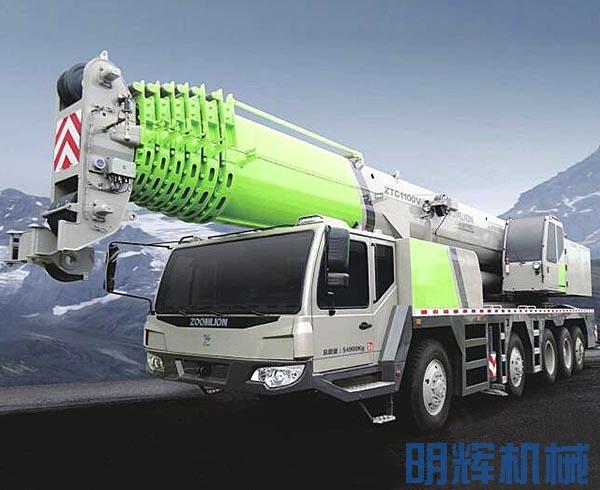 中联重科ZTC1100V汽车起重机
